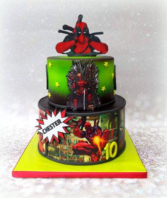 Deadpool taart