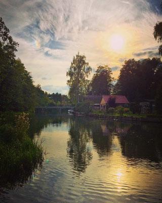 Abendstimmung in Lübbenau/Spreewald