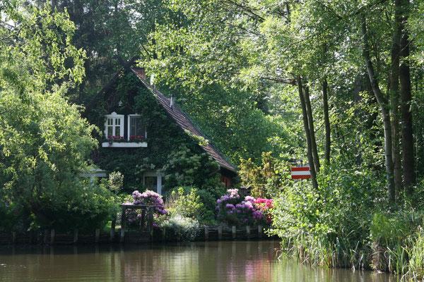 Wohnhaus im Biosphärenreservat Spreewald