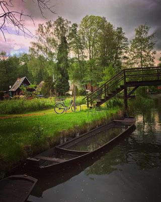 im Ortsteil Kaupen bei Lehde im Spreewald