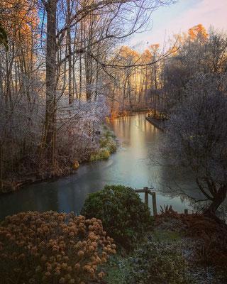 Frühmorgens im Spreewald