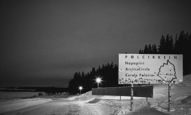 polarkreis, schweden