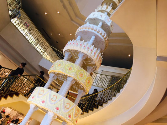 お菓子の城_ウェディングケーキ_001