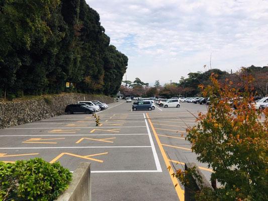 養老の滝_駐車場