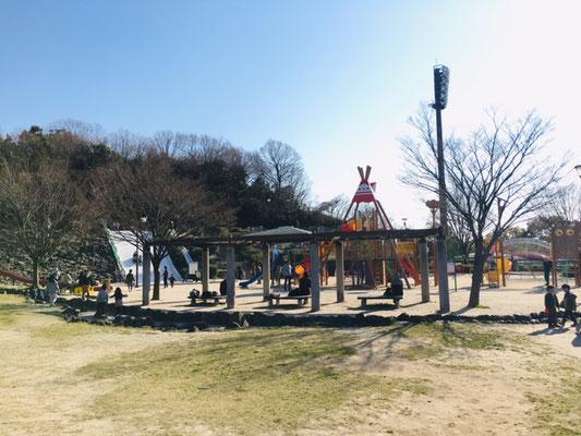 半田運動公園_ちびっこ広場水遊び