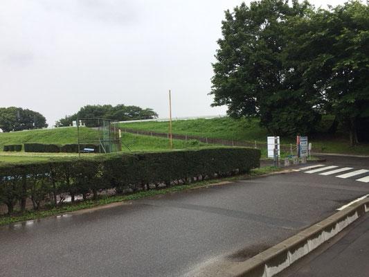 木曽川扶桑緑地_公園入口(少しわかりづらい)
