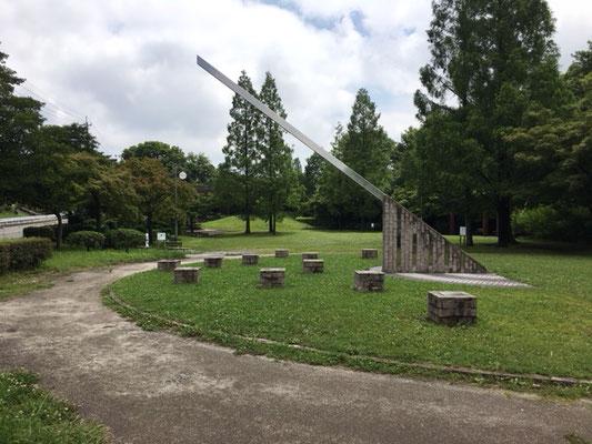 茶屋ヶ坂公園_北側入口