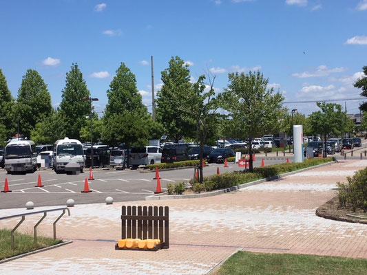 パークアリーナ小牧_北側駐車場