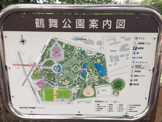 鶴舞公園_案内図