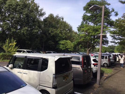 東山動植物園_スカイタワー前駐車場_001