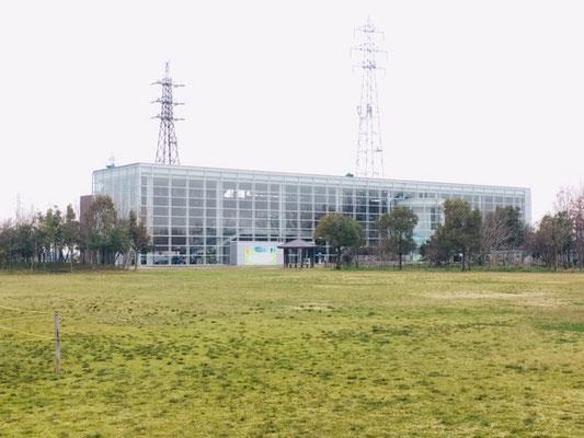 メタウォーター下水道科学館あいち_ピクニック・芝生広場_006