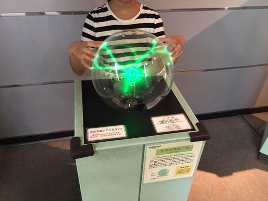 電気の発見_プラズマボール