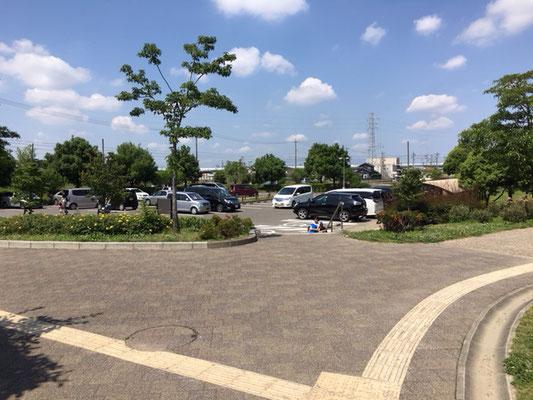 神明公園_公園側駐車場