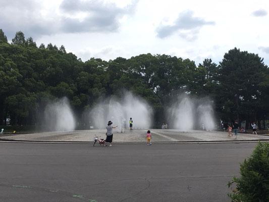 庄内緑地公園_噴水広場_002