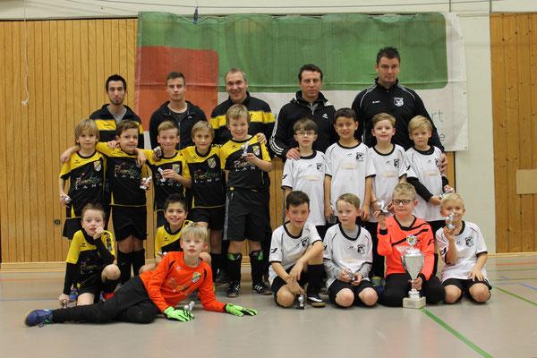 F1-Junioren   FC Concordia-Haaren (2. Platz) und VfJ Ratheim (1. Platz)