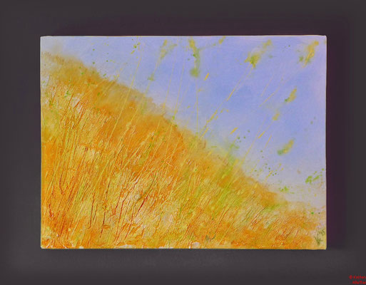 Sommer, Acryl mixed media, 2015, 80x60x2