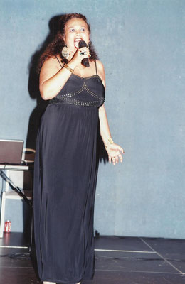 La chanteuse Rita des Seychelles
