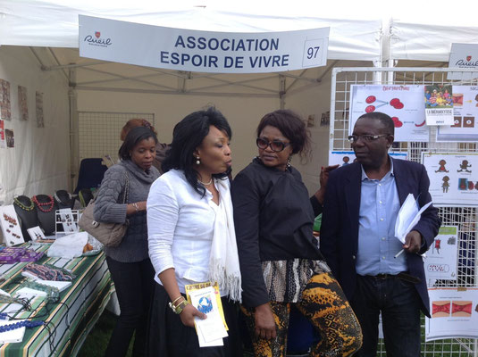 Membres de l'association Espoir De Vivre