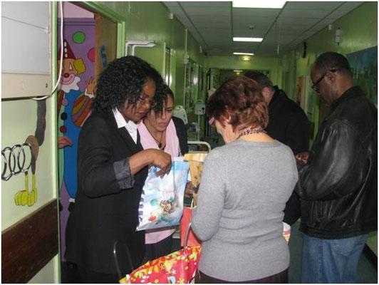 L'inventaire de cadeaux pour les enfants malades…