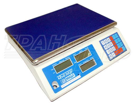 Торговые электронные весы МИДЛ МТ серии Базар 2