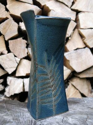 Vase nachtblau 24 cm hoch