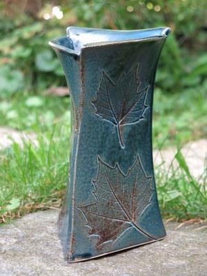Vase nachtblau 20cm hoch
