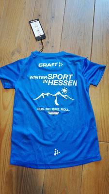 die neuen T-Shirts vom Skiverband für die Jugend