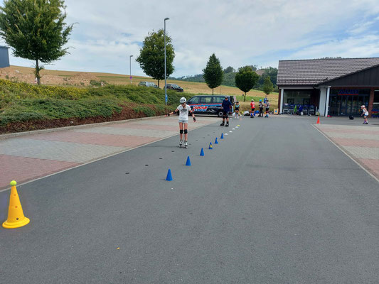 Slalom-Training