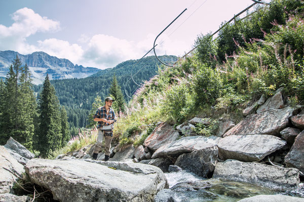 Fly fishing Trentino Italy - Danica Dudes Fliegenfischen Blog with Simms fishing