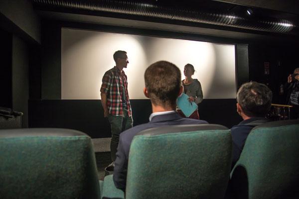 Danica Dudes Filmfestival Video Premiere von Fluss.Mensch.Zukunft zur nachhaltigen fischereilichen Bewirtschaftung in Helsinki, Finnland