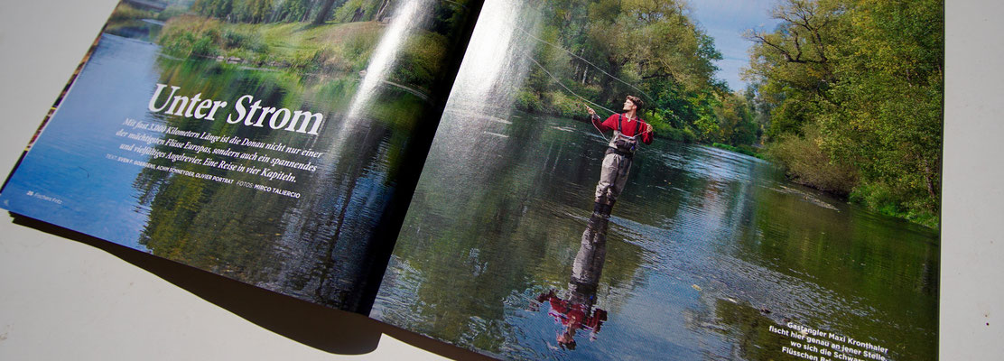 Danica Dudes Fliegenfischen flyfishing blog - Fischers Fritz Magazin - Red Bull Media House Outdoor Magazin