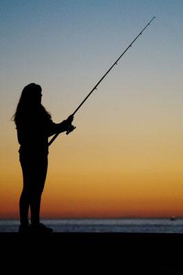 """The Fishing Girl"""