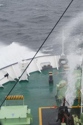 Storm op zee!