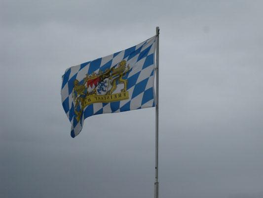 Fahne imWestwind