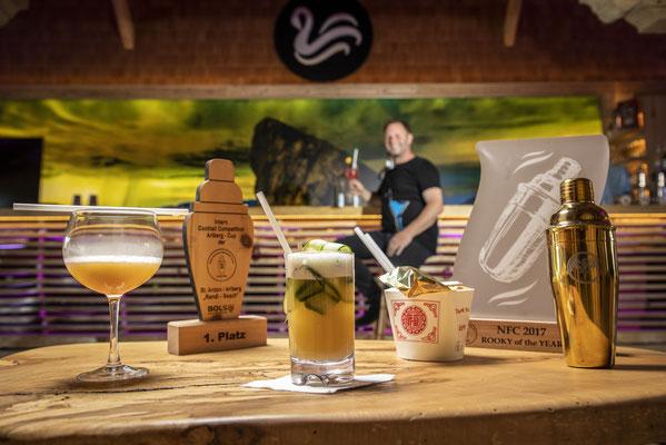 Erstklassige Cocktails am Attersee