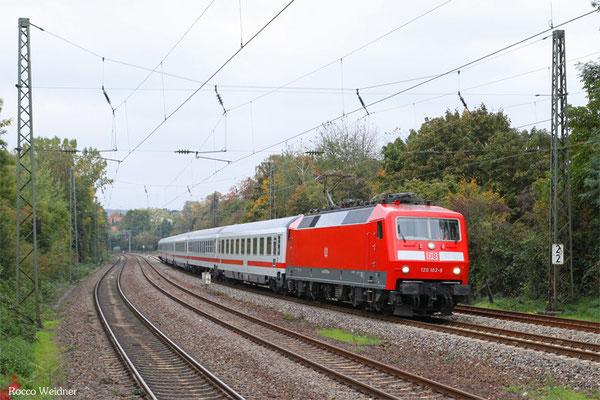 120 102 mit IC 2055 Saarbrücken Hbf - Heidelberg Hbf, 15.10.15