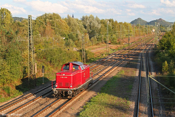 VEB 212 229 als Tfzf(D) 95140 Gerolstein - Bous(Saar) (Sdl.), 03.09.2015