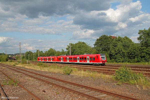 426 004 + 426 022 als RB 23626 Neubrücke(Nahe) - Saarbrücken Hbf, Sulzbach(Saar) 09.07.2015