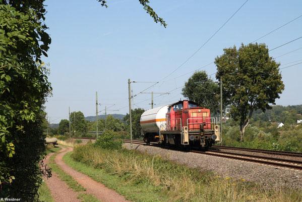 294 823 mit EK 55991 Fürstenhausen - Saarbrücken Rbf Nord (Sdl.Ammoniak), Gersweiler 21.08.2015