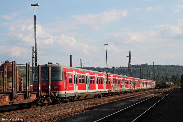 420 953 und ein weiterer 420er warten auf die Verschrottung, Ehrang 21.08.2015