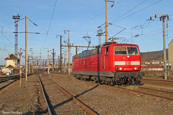 181 204 am 09.04.2015 im Grenzbahnhof Forbach/F