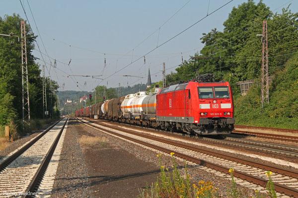 185 020 mit EZ 44241 Woippy/F - Mannheim Rbf Gr.M, Dudweiler 03.07.2015