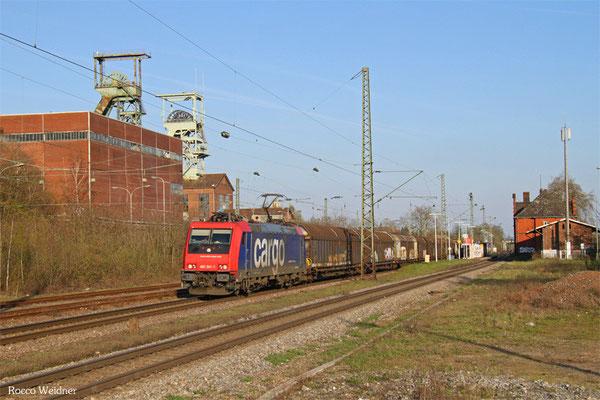 482 041 mit DGS 62088 Saarbrücken Rbf Nord - Kaldenkirchen (Sdl.), Luisenthal(Saar) 10.04.2016