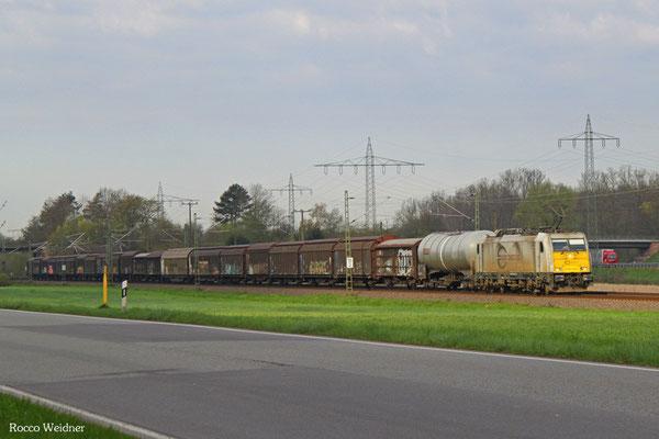 186 308 mit EZ 44203 Gevrey-Triage/F - Mannheim Rbf Gr.M, Vogelbach 19.04.2016