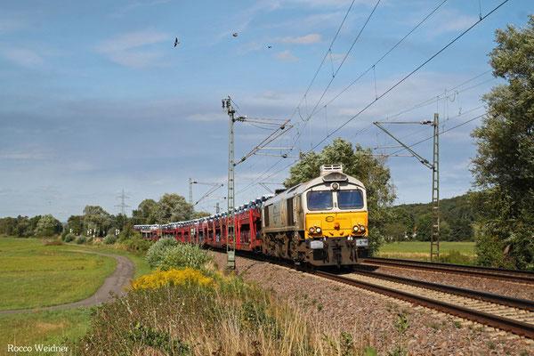 ECR 77 002 mit EZ 49268 Einsiedlerhof - Villers-Cotterêts/F, Bruchmühlbach 25.08.2015