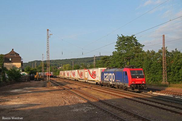 482 047 mit DGS 43512 München-Laim Rbf - Bettembourg/L, Dudweiler 10.06.2015