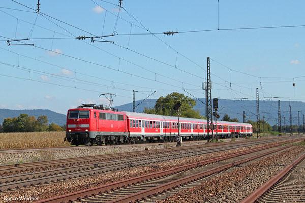 111 209 mit RB 15360 Heidelberg Hbf - Frankfurt/M Hbf, Mannheim-Friedrichsfeld Süd 21.09.2015