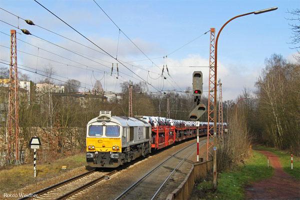 77 030 mit EZ 49266 Einsiedlerhof - Vaires-Torcy/F (Villers-Cotterets), Sulzbach 24.02.2016