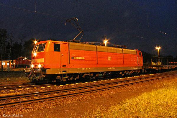 181 211 mit EK 63046 Homburg(Saar) Hbf - Saabrücken Rbf Nord (Sdl.)