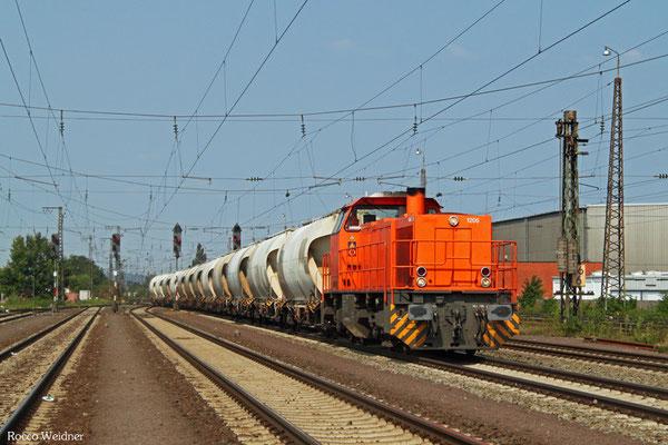 DGS 91195 Kerkerbach - Ludwigshafen BASF Gbf, Mannheim-Friedrichsfeld 11.08.2015